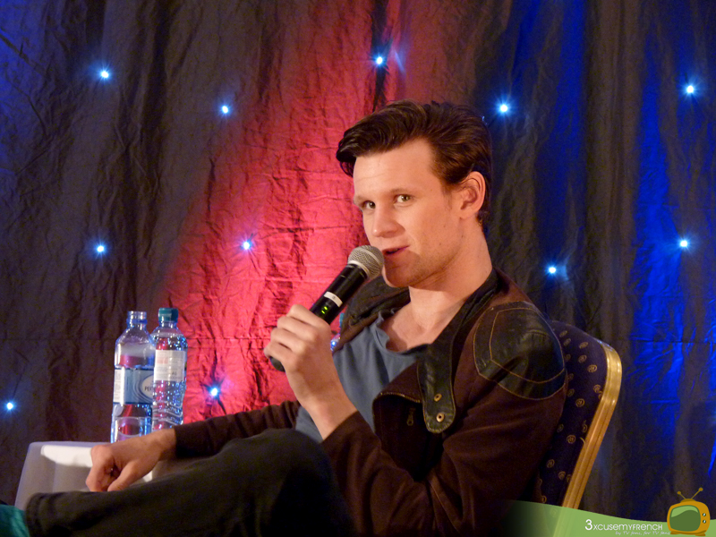 Matt Smith at the 11th Hour, a Doctor Who convention